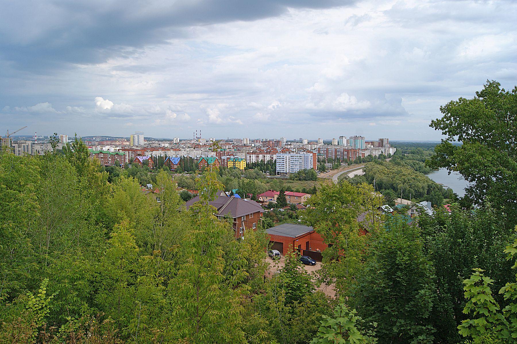 Городской пейзаж город