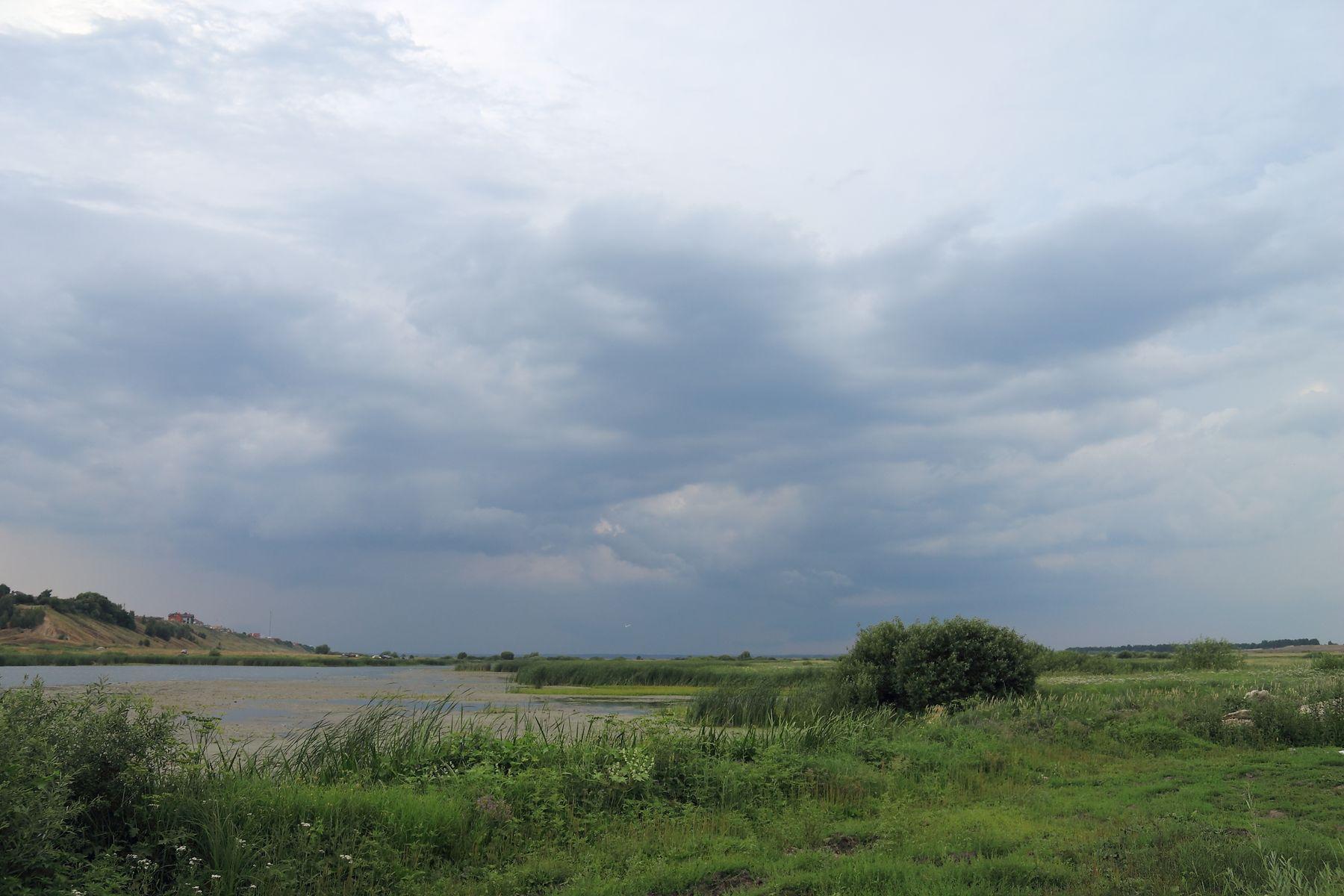 Перед грозой небо облака гроза sky clouds storm