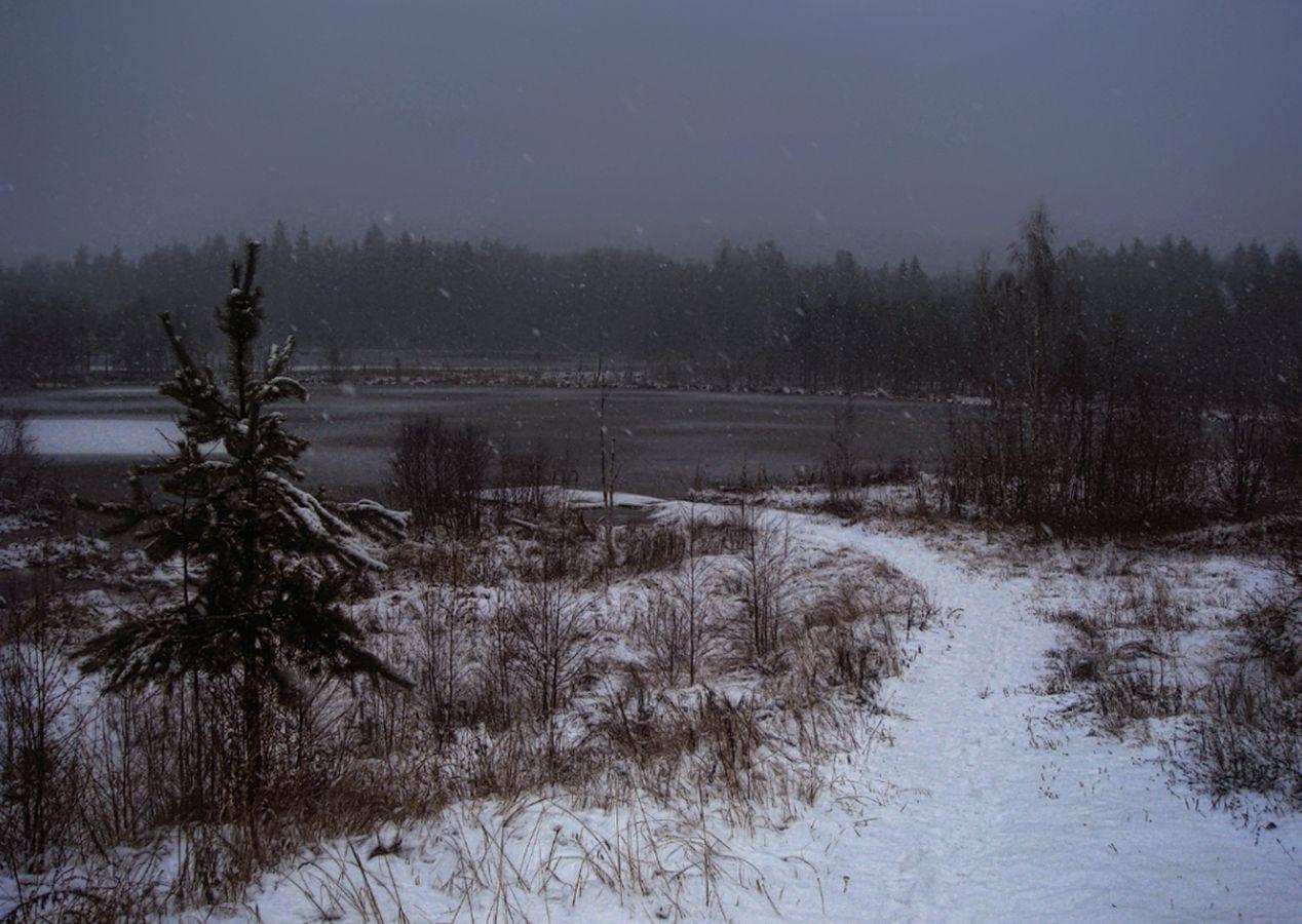 ***Еще была зима.