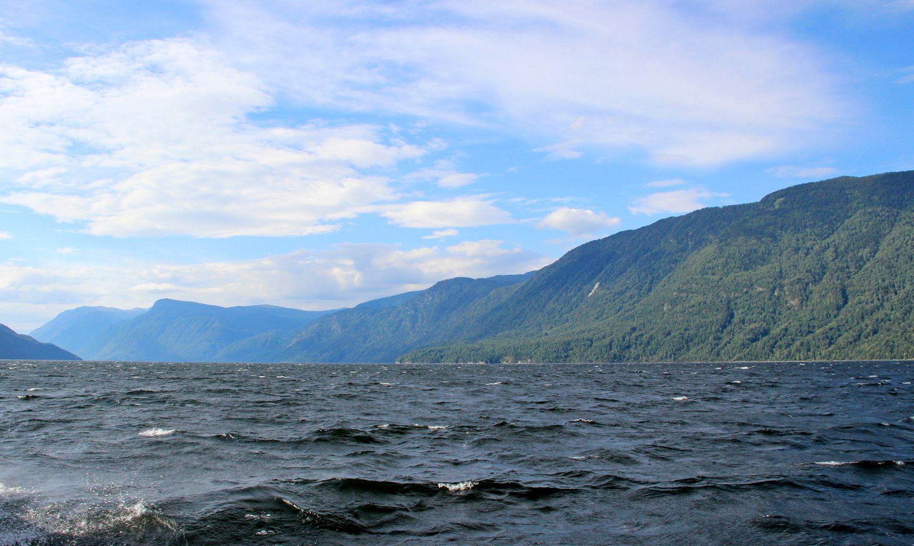Ветру навстречу озеро телецкое алтай