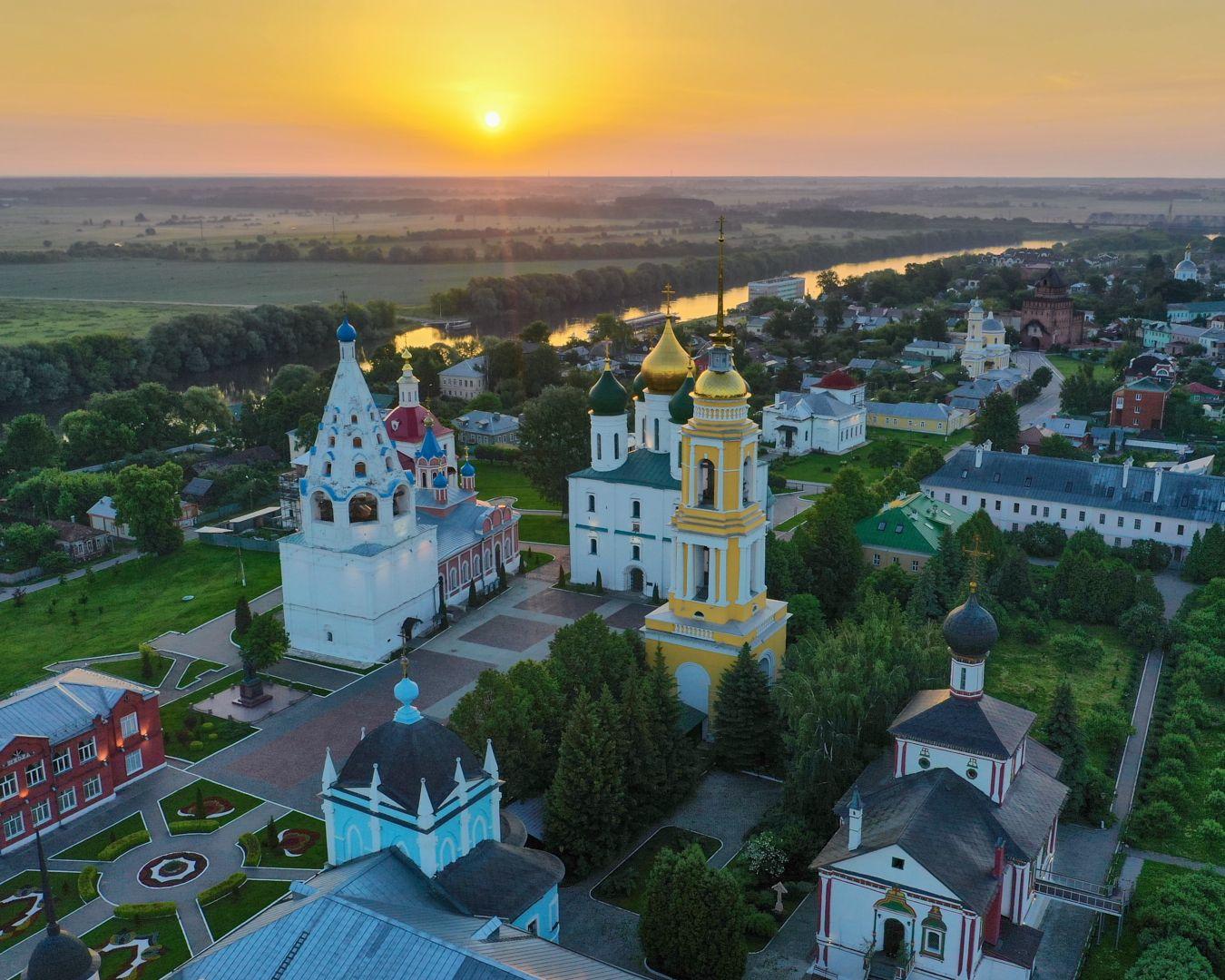 Восход над Москвой-рекой