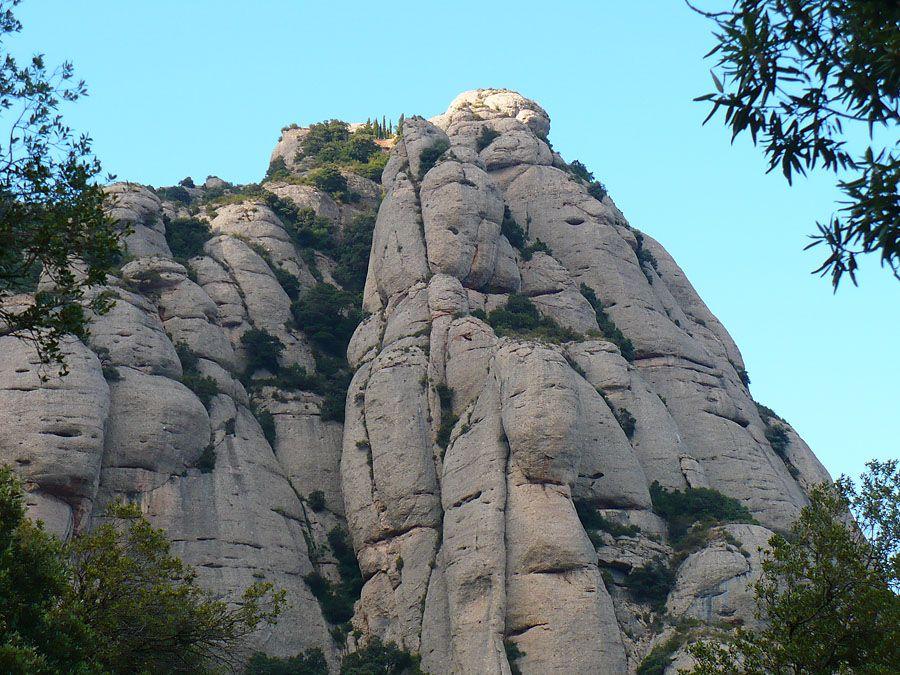 Гора Монтсеррат Испания