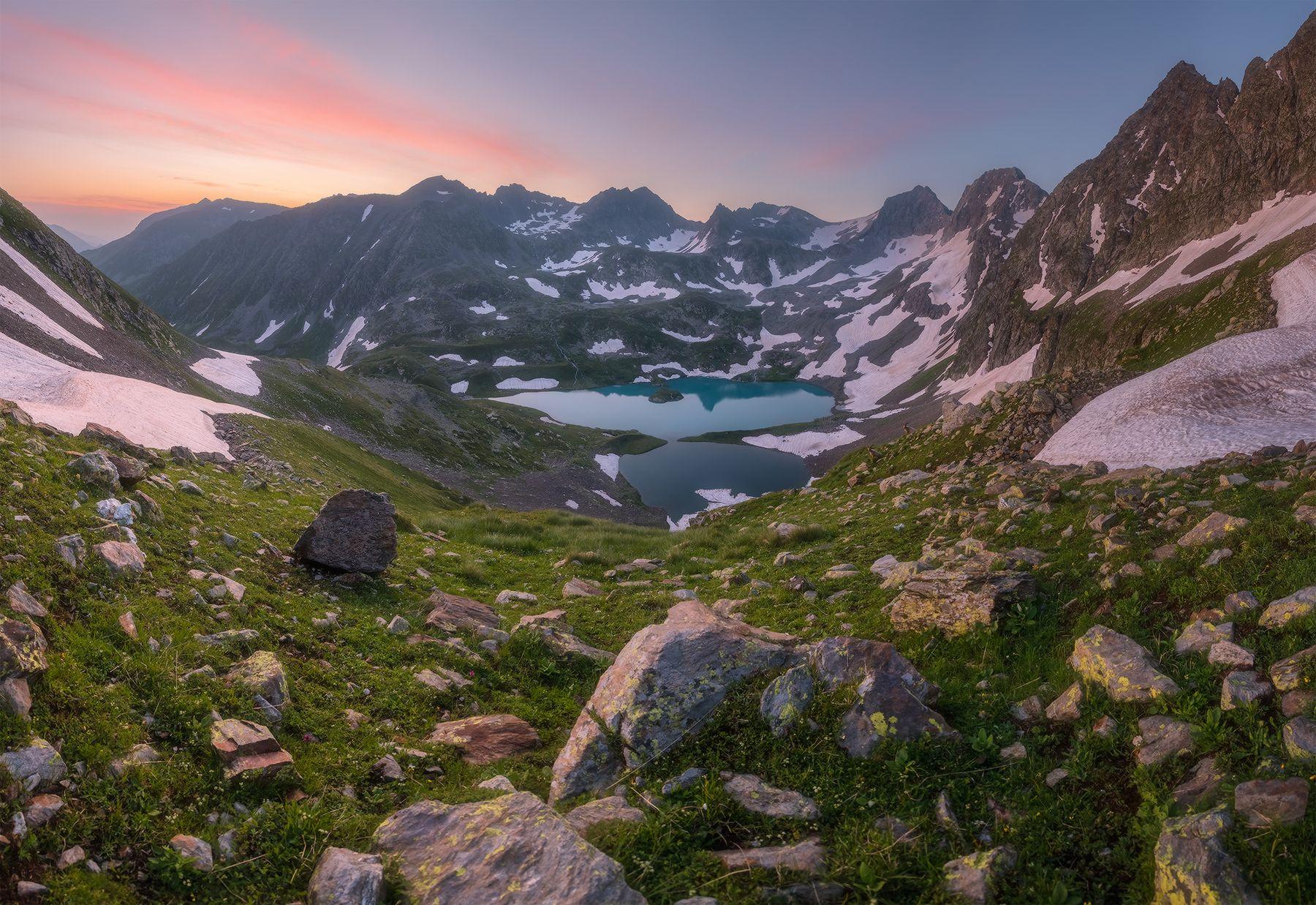 Имеретинский узел Западный кавказ озеро безмолвия имеретинский узел рассвет июль туры