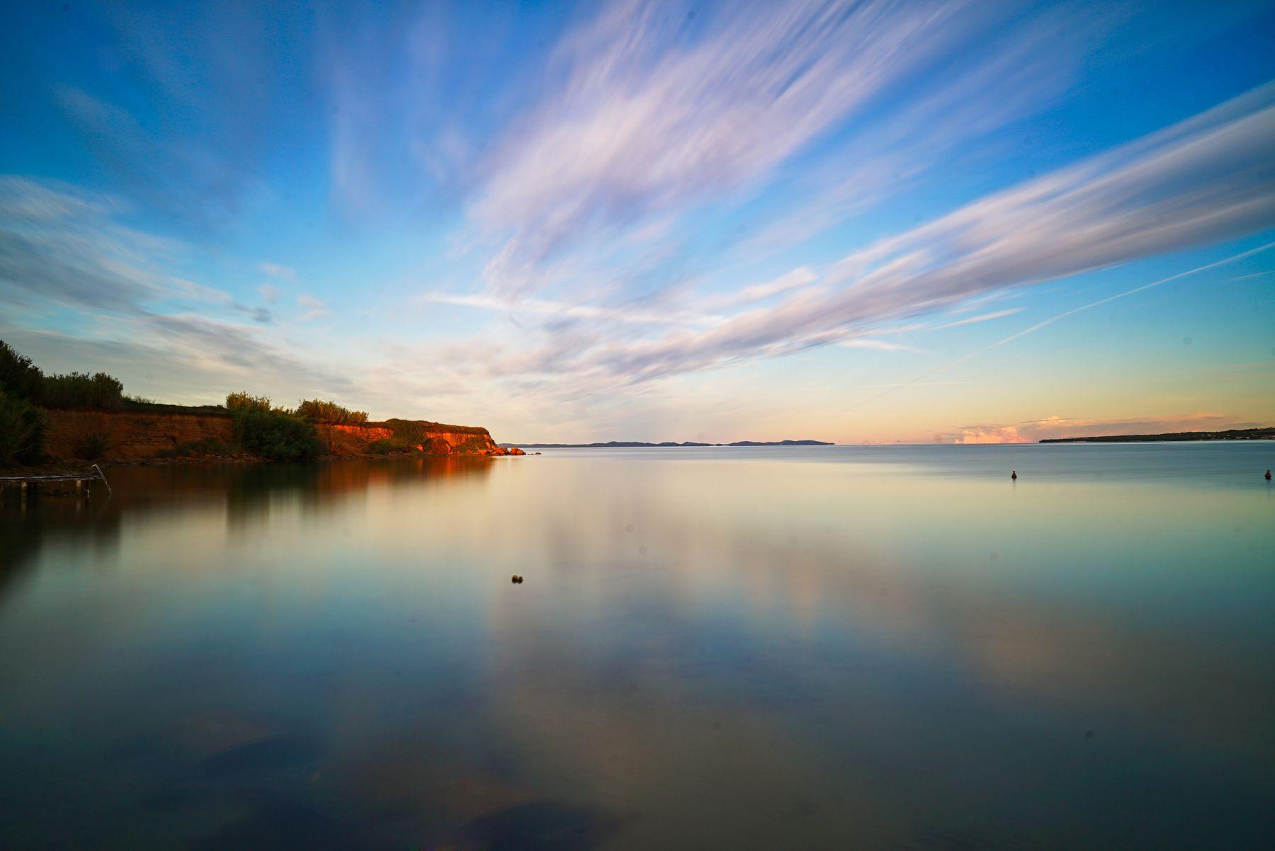рассвет на воде рассвет море вода отражение утро
