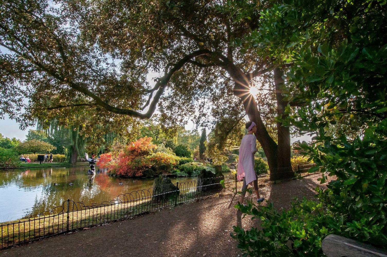 В Риджентс-Парке (2) Лондон Риджентс-Парк