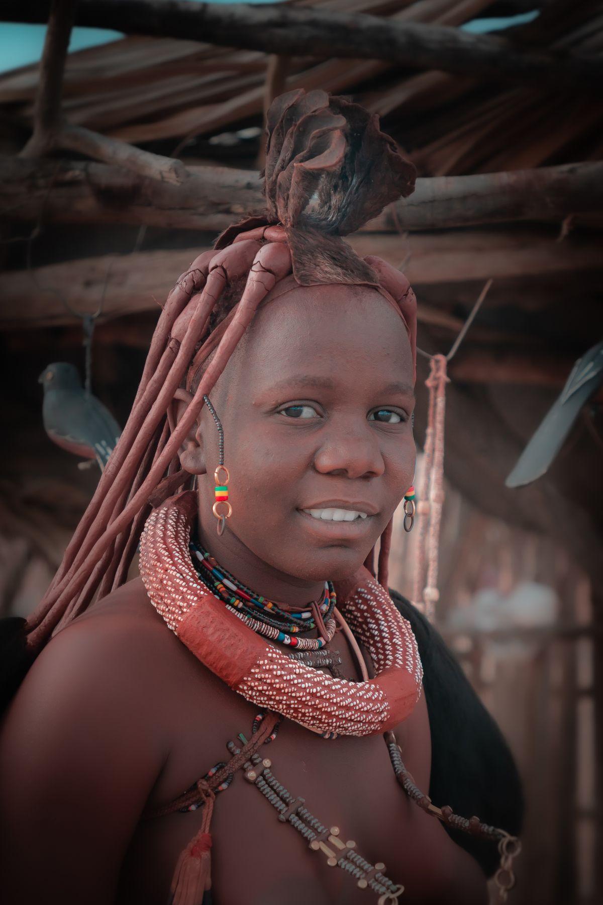 Девушка из племени химба, Намибия химба намибия африка сафари племена