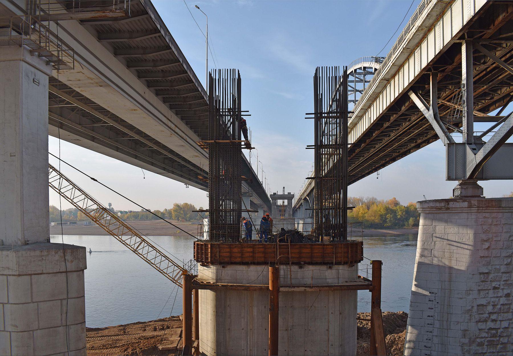 Мосты город мост река строительство
