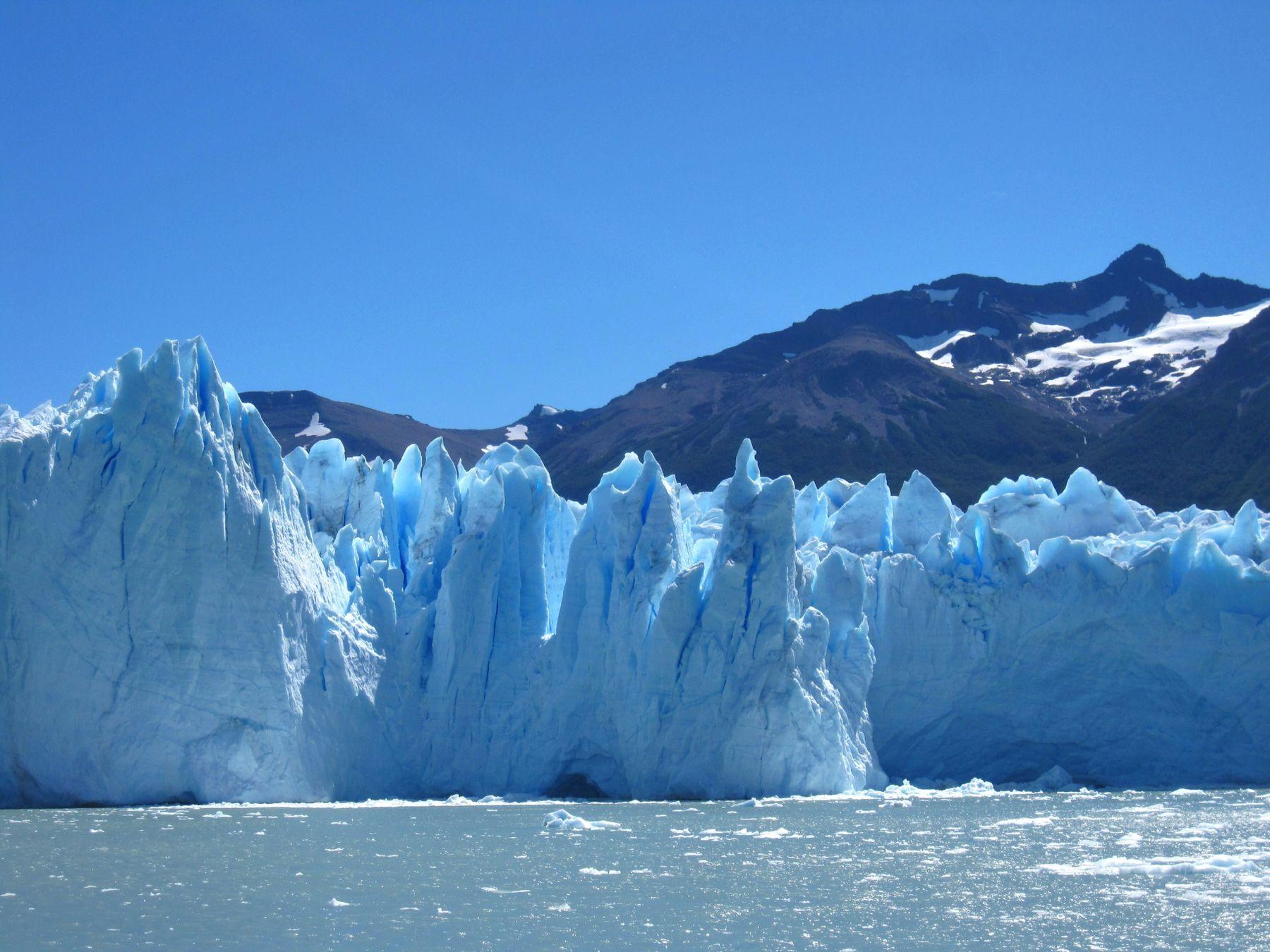 Ледник Перито-Морено. Аргентина ледник пейзаж скалы