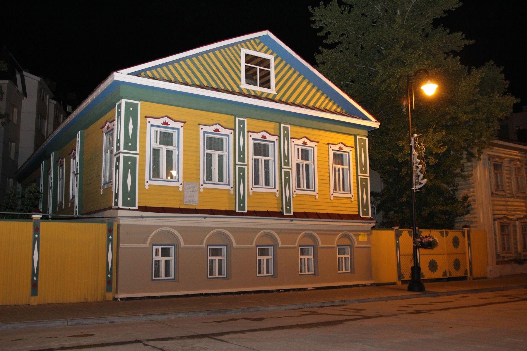 Дом известного татарского богослово-историка Шигабутдина Марджани  (1818-1889).  Казань, Старотатарская слобода