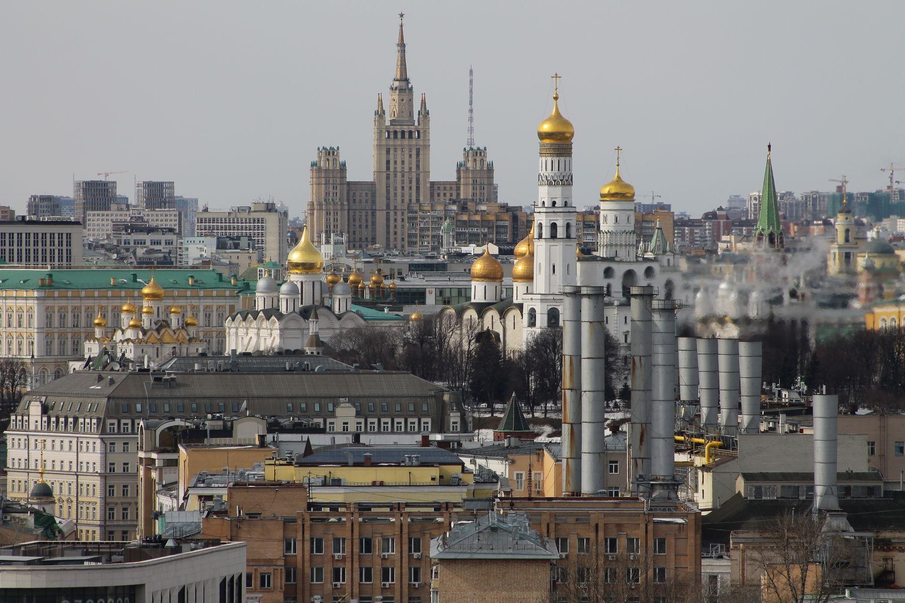 Вид на Москву (2-й Котельнический переулок,5) Москва