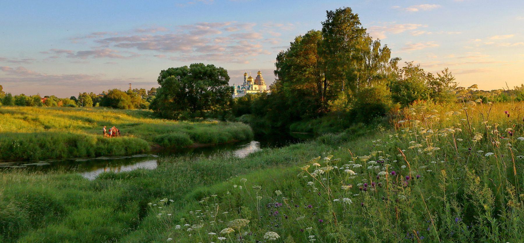 *** Летний пейзаж подмосковье лето истра пейзаж вечер
