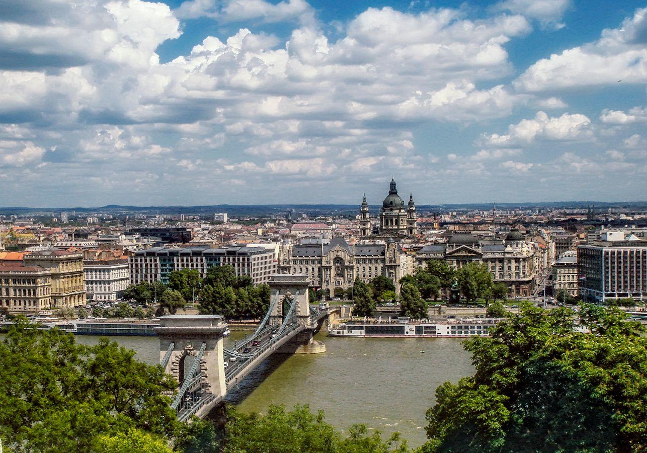 ***Весенний Будапешт.