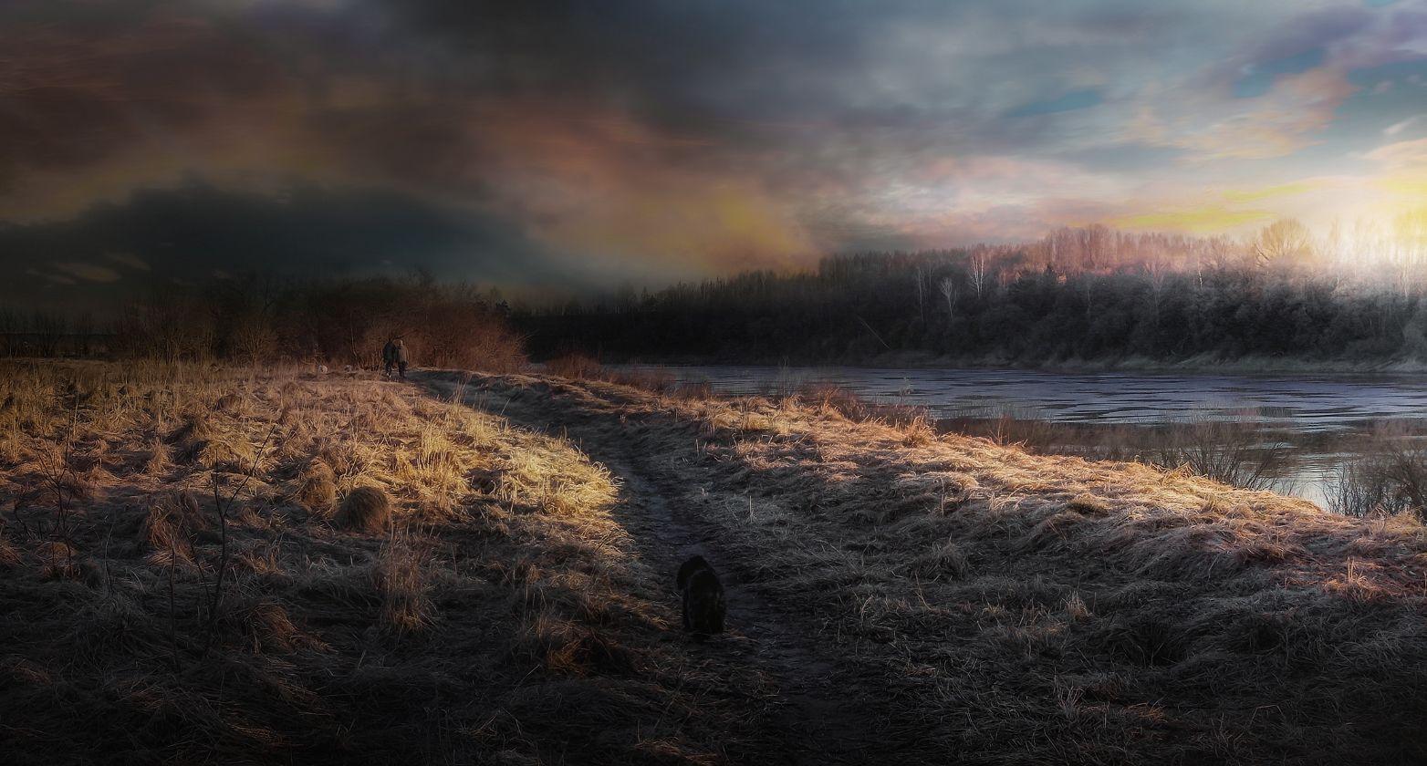 ***Утренняя прогулка.