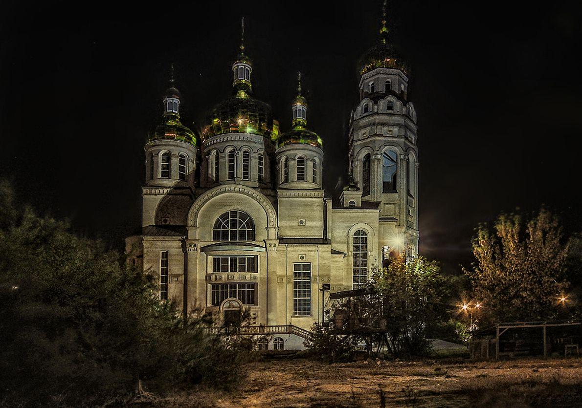***Свято-Андреевский кафедральный собор в г. Новая Каховка