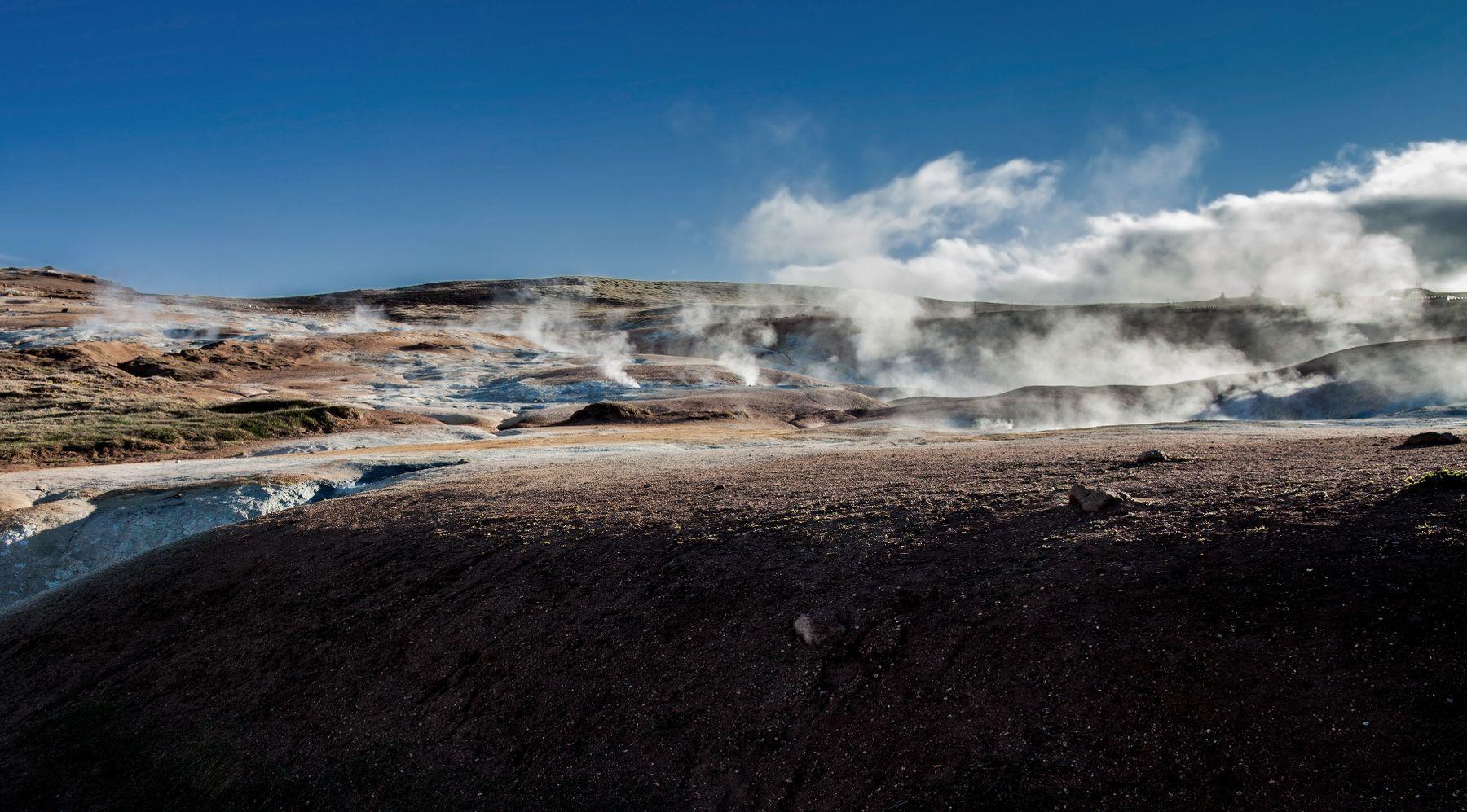 Горячая Исландия.