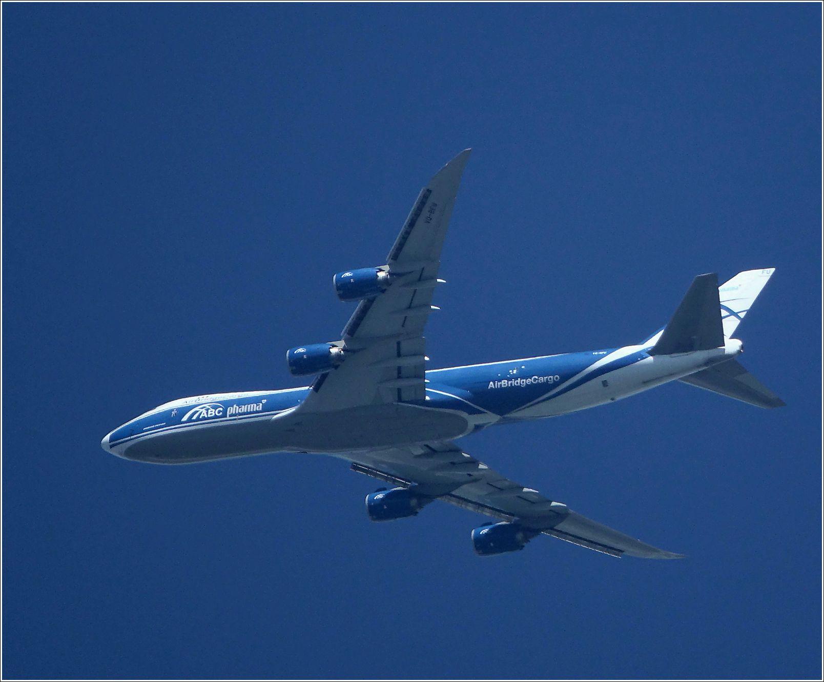 Боинг-747 Боинг-747 авиация полет МО Хрипань 2020.07.07