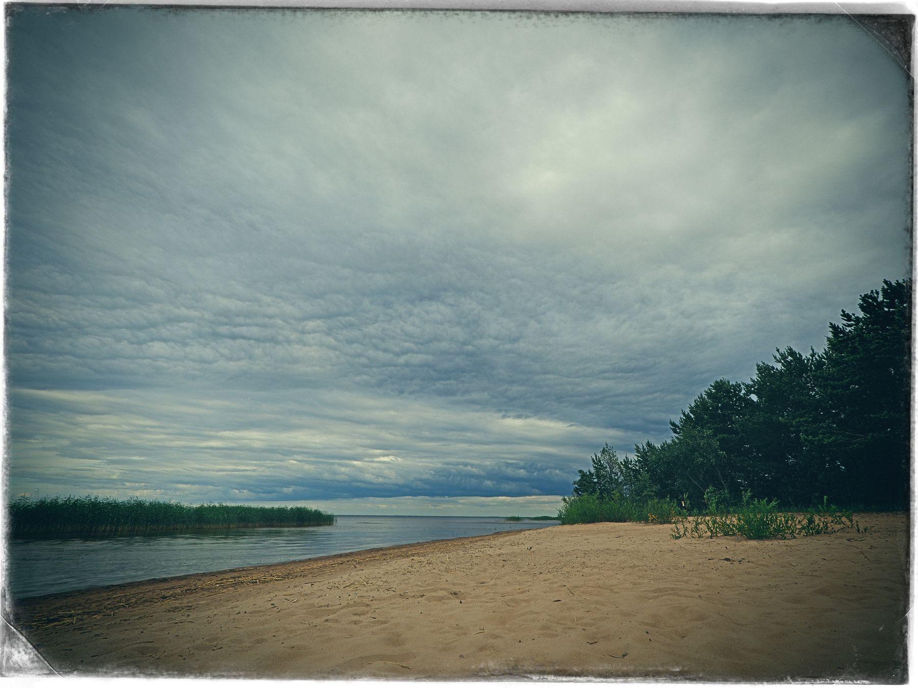 Ладога, июль (3) лето озеро пляж