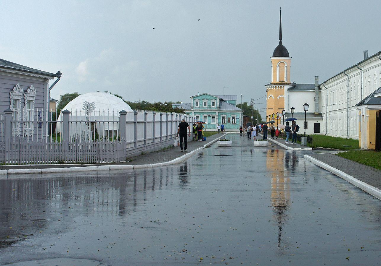 Дождь Коломна