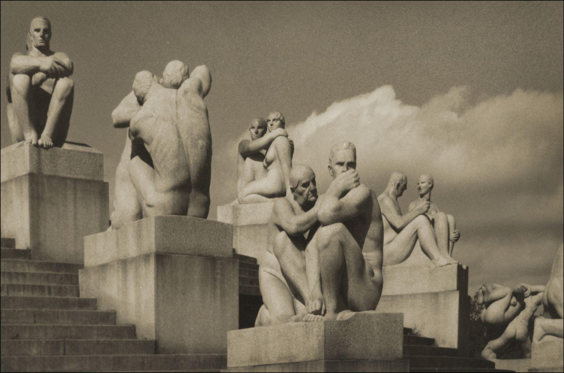 Парк скульптур Вигеланда в Осло