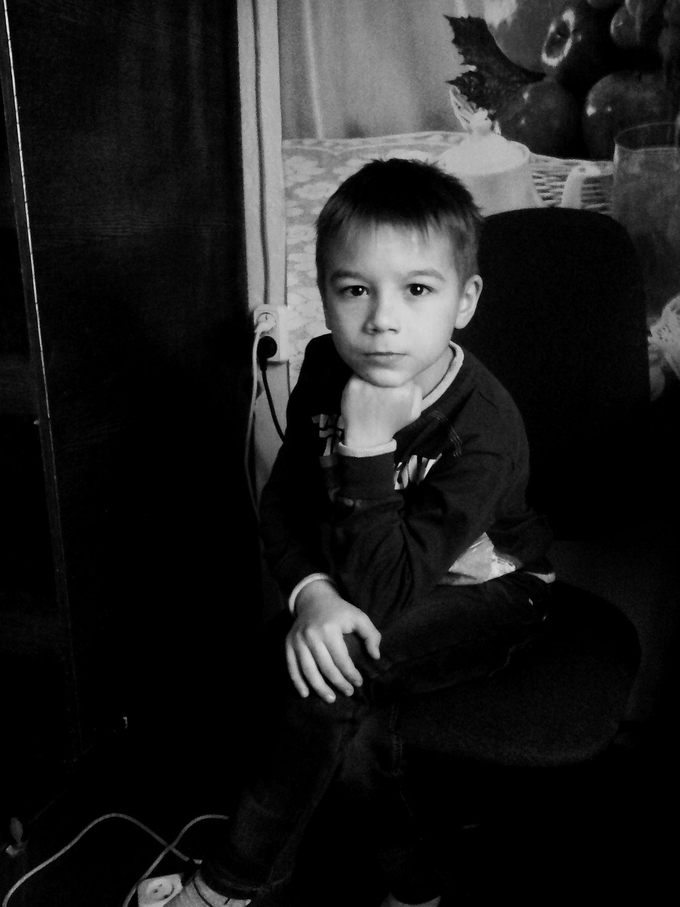 Ростислав портрет дети жанровый