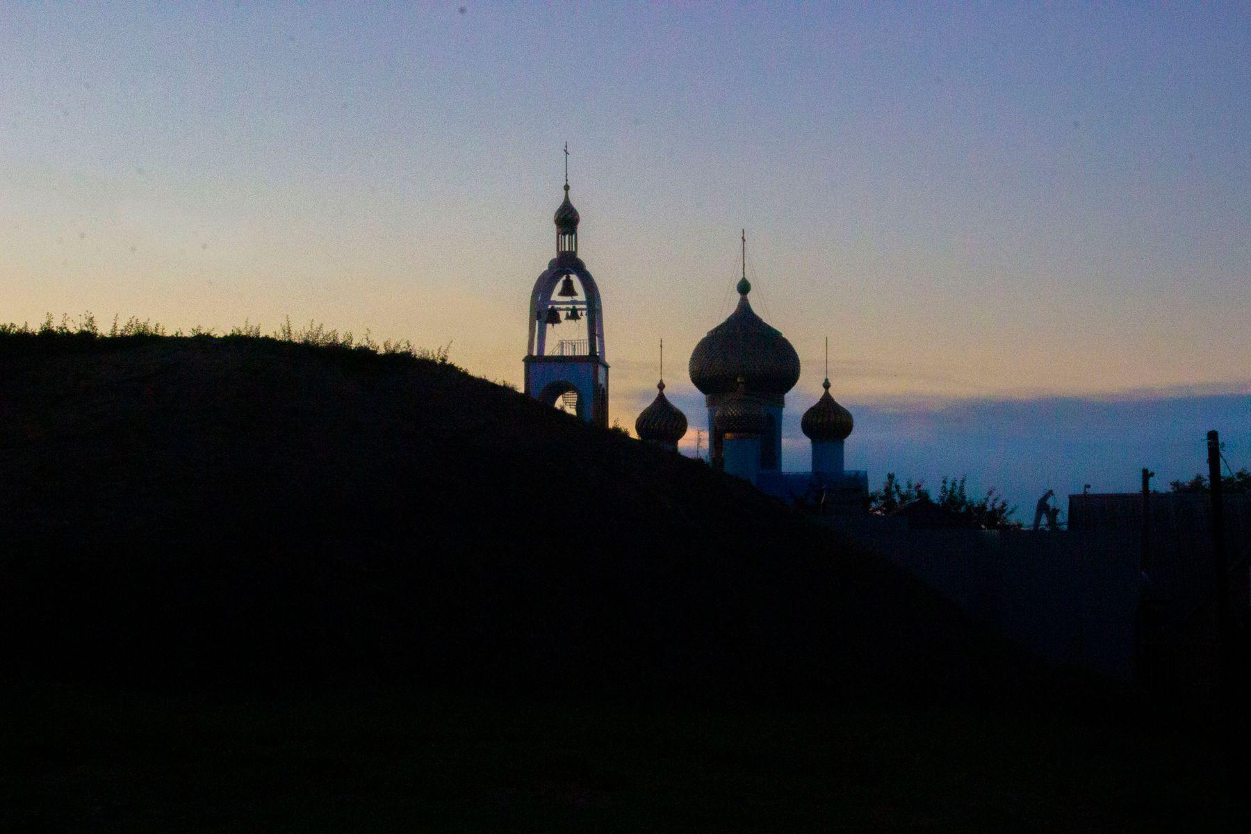 Купола храмы церкви