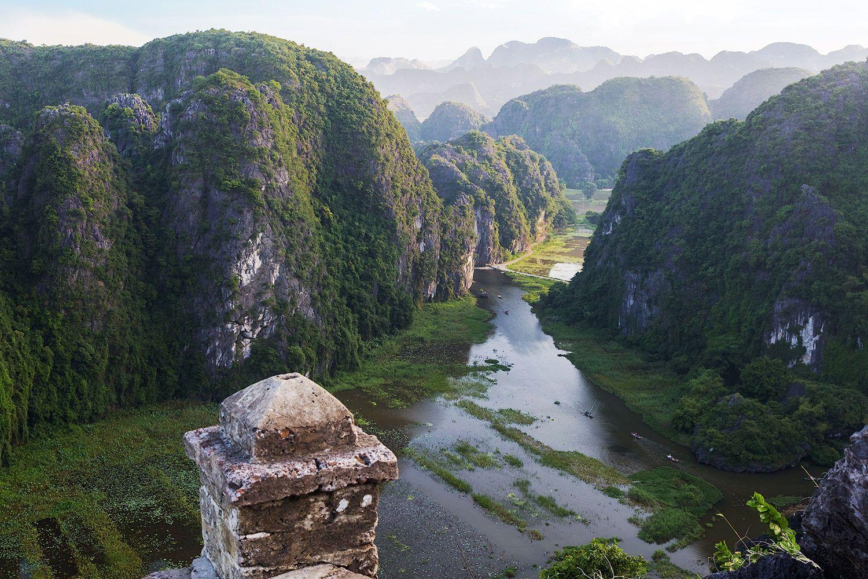 *** Нинь Бинь Вьетнам пейзаж горы Ninh Binh Vietnam landscapes mountains