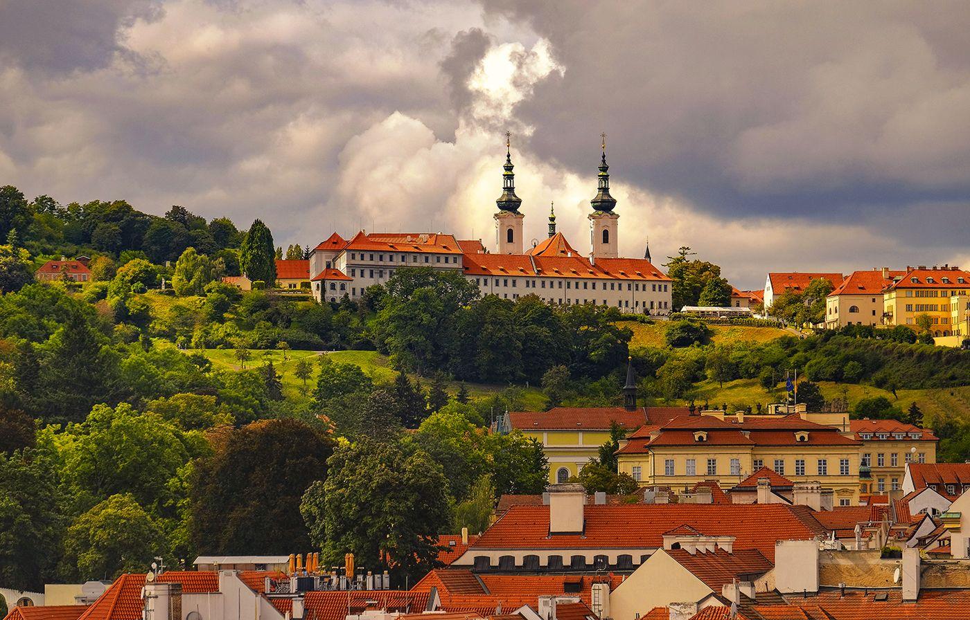 Страговский монастырь Прага Градчаны