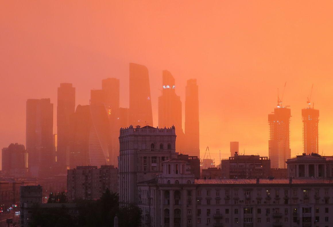 """""""Оранжевое небо, оранжевое море..."""""""