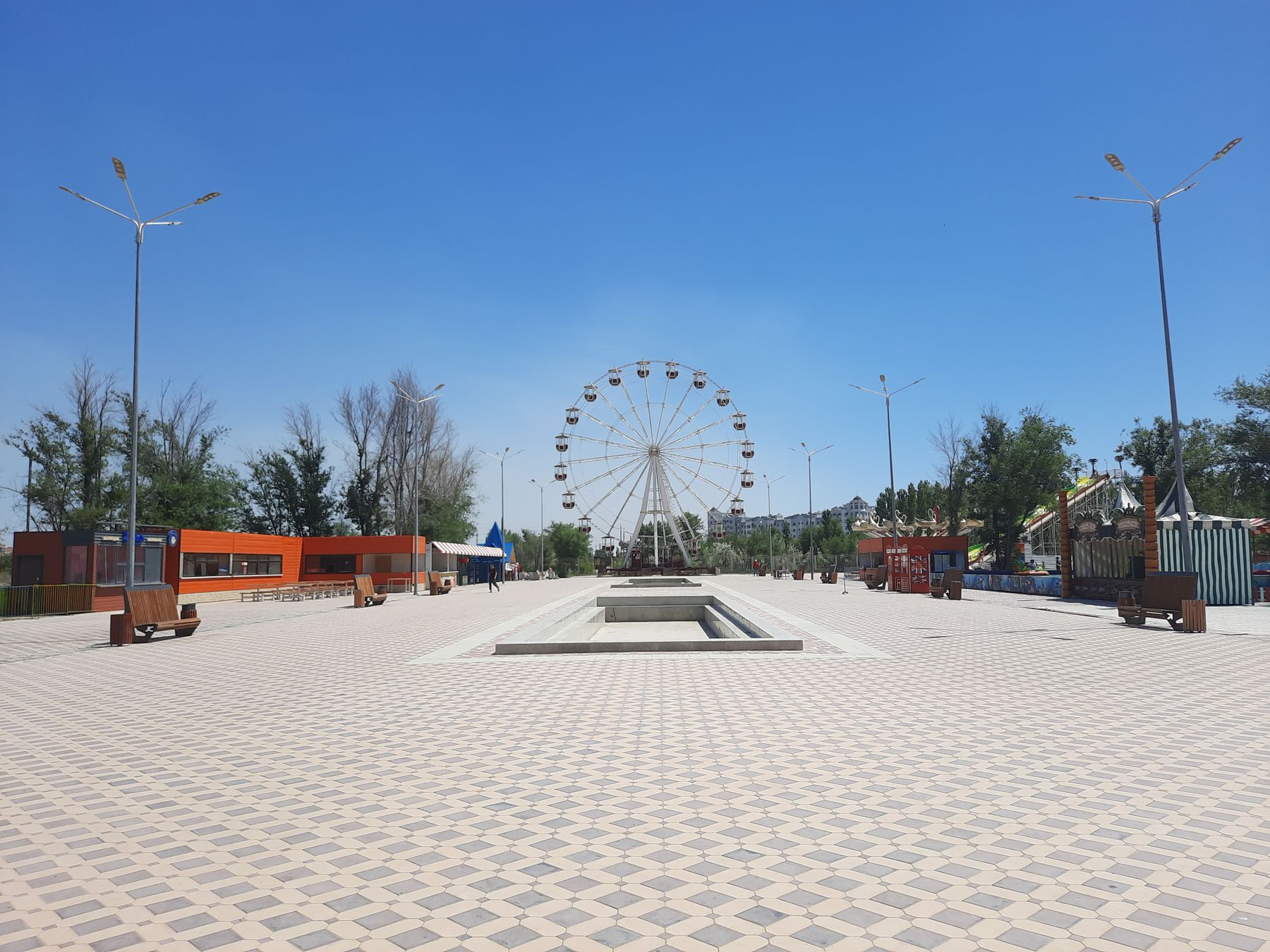 Парк Керемет 2021 Казахстан Атырау