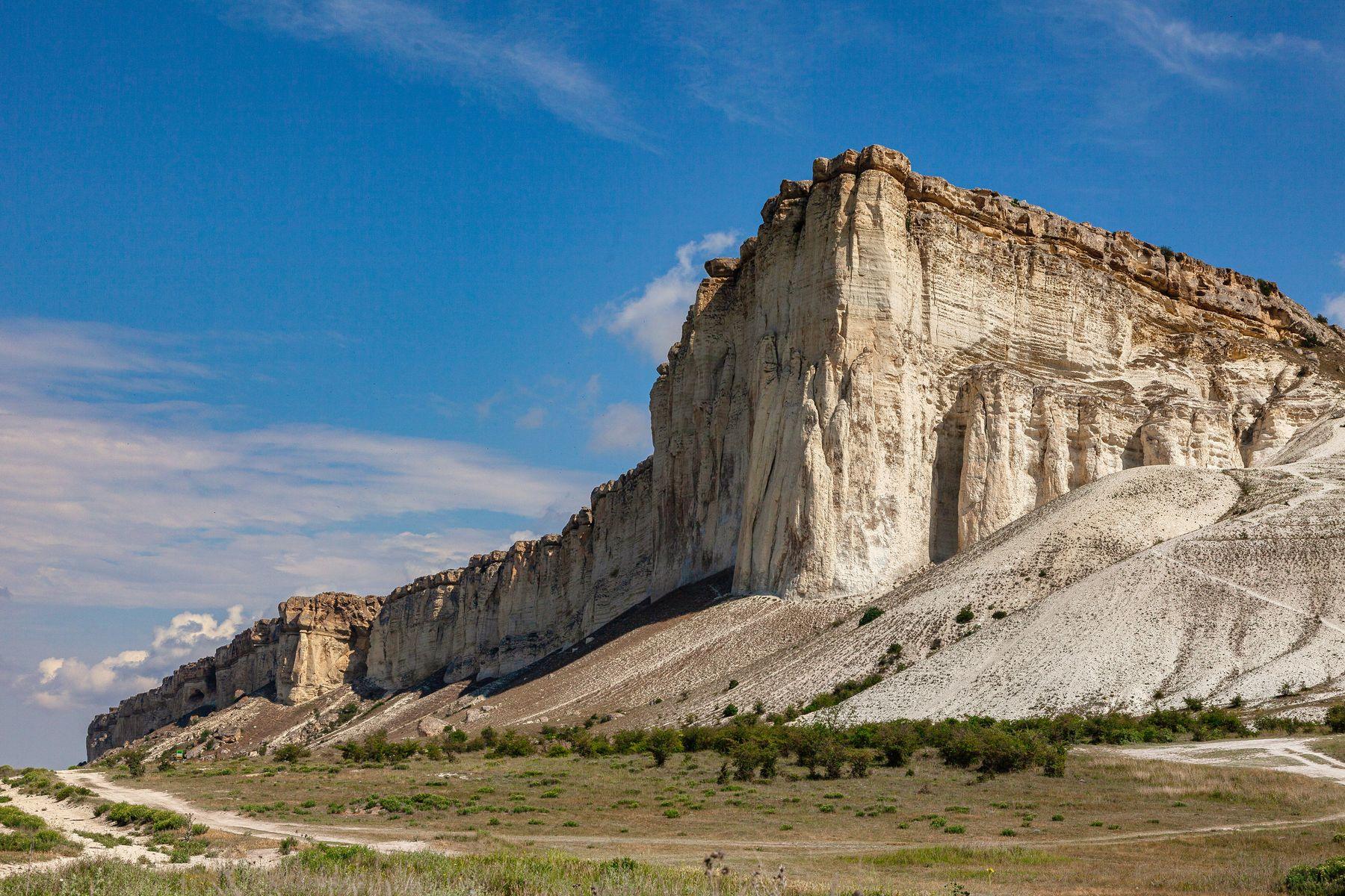 Белая Скала Крым белая скала гора пейзаж