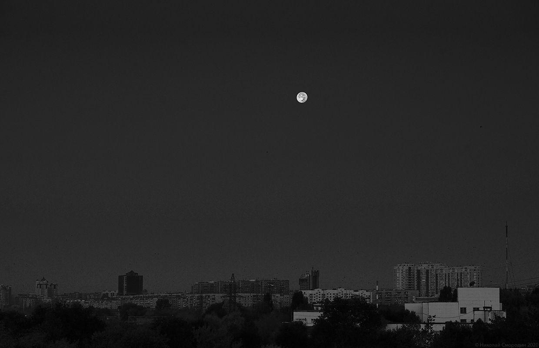 Оренбург перед рассветом