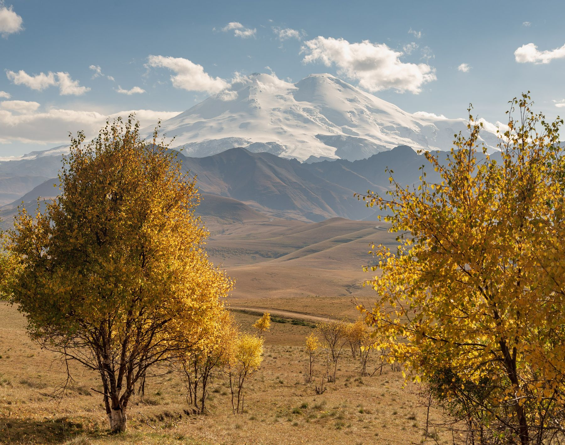 *** Кавказ Приэльбрусье Джилу-су осень