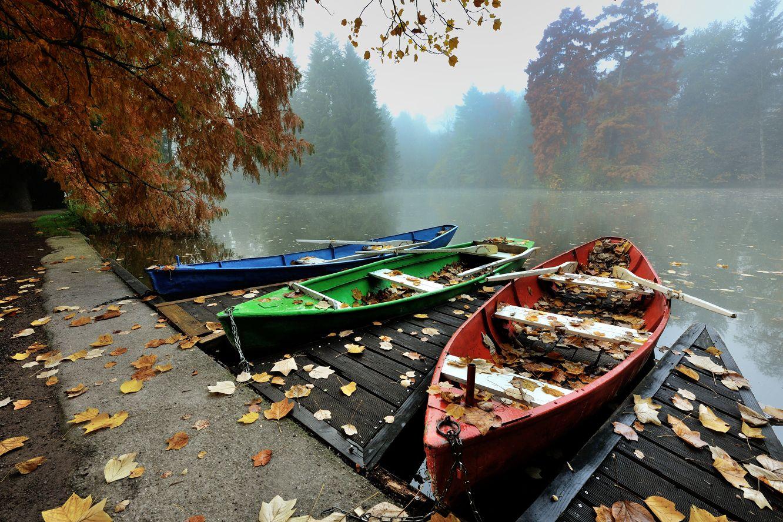 Осенний причал
