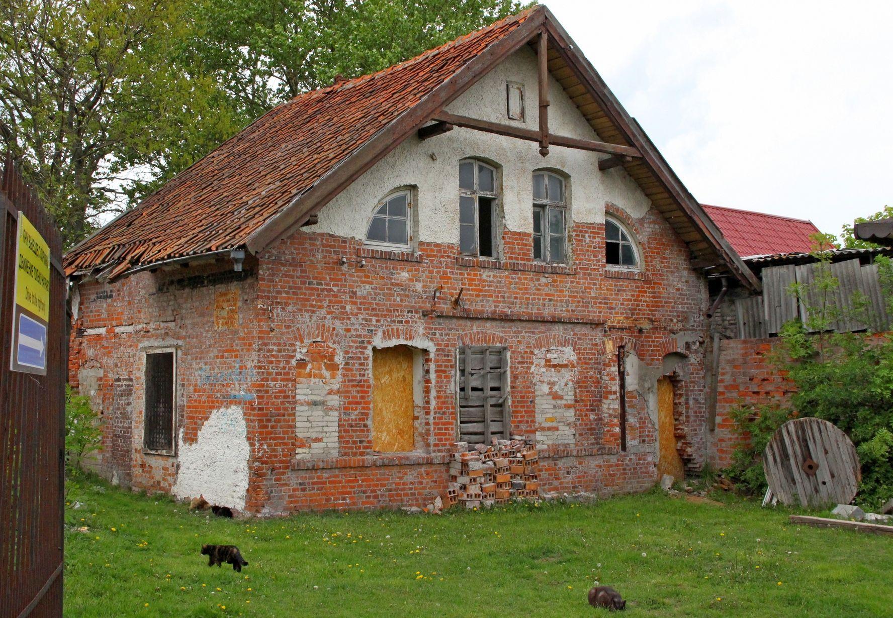 ***** зеленоградск кранц дом строение