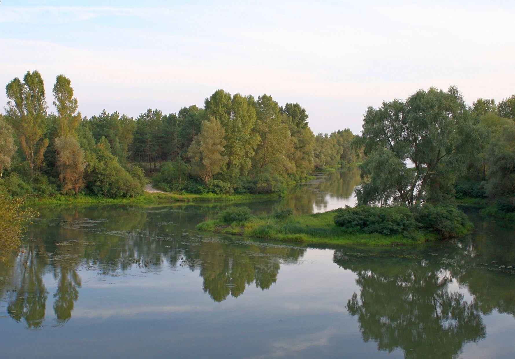 Островок канал днепр лебедевка