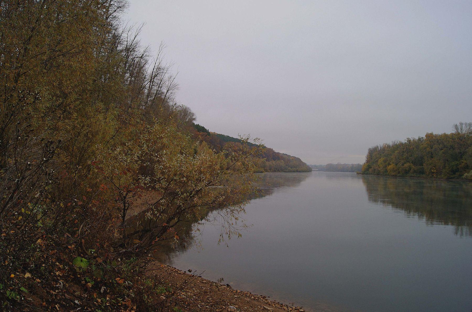 Осенняя река осень октябрь река Уфимка