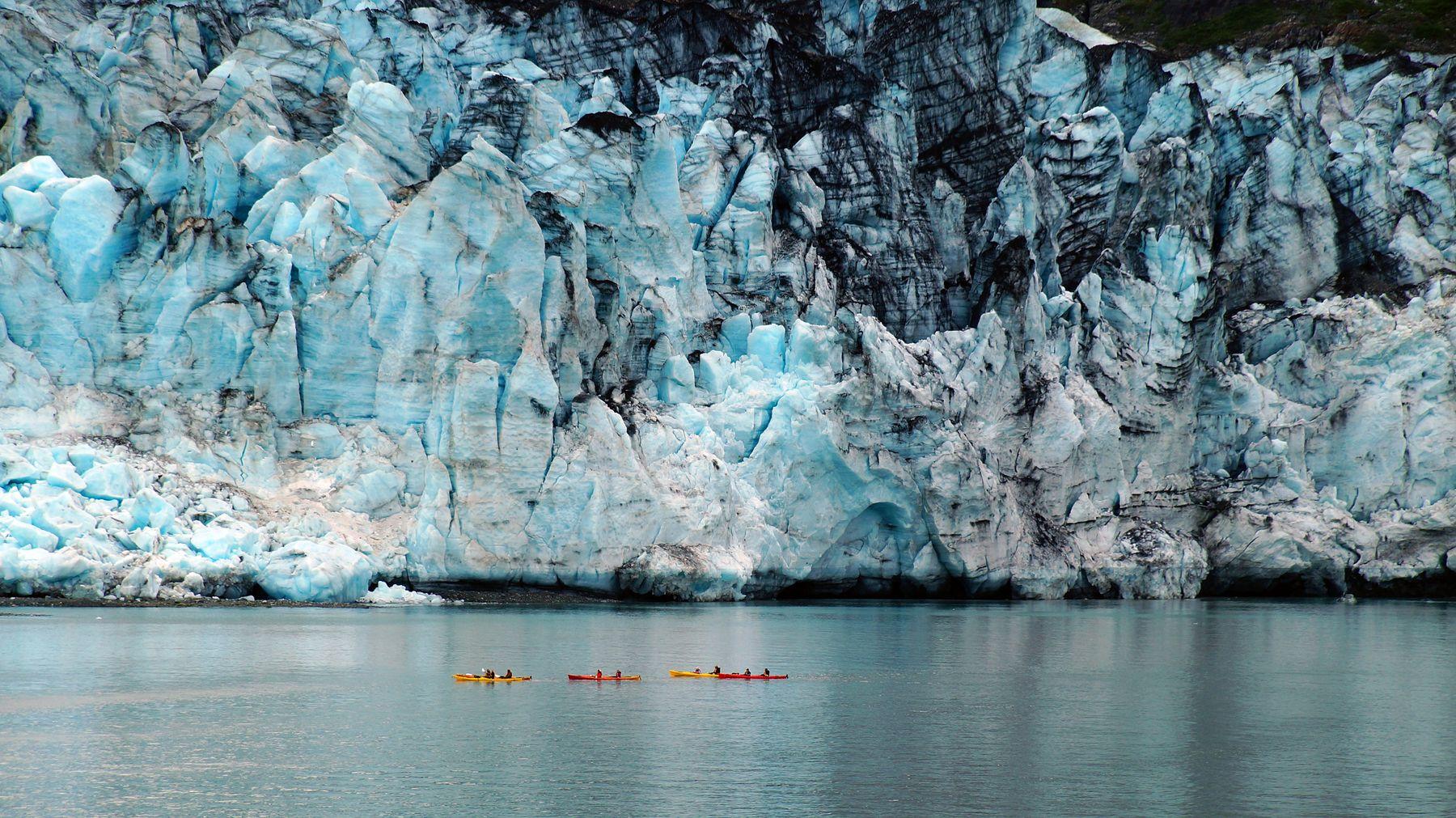 ***Ледник Ламплуг. Аляска