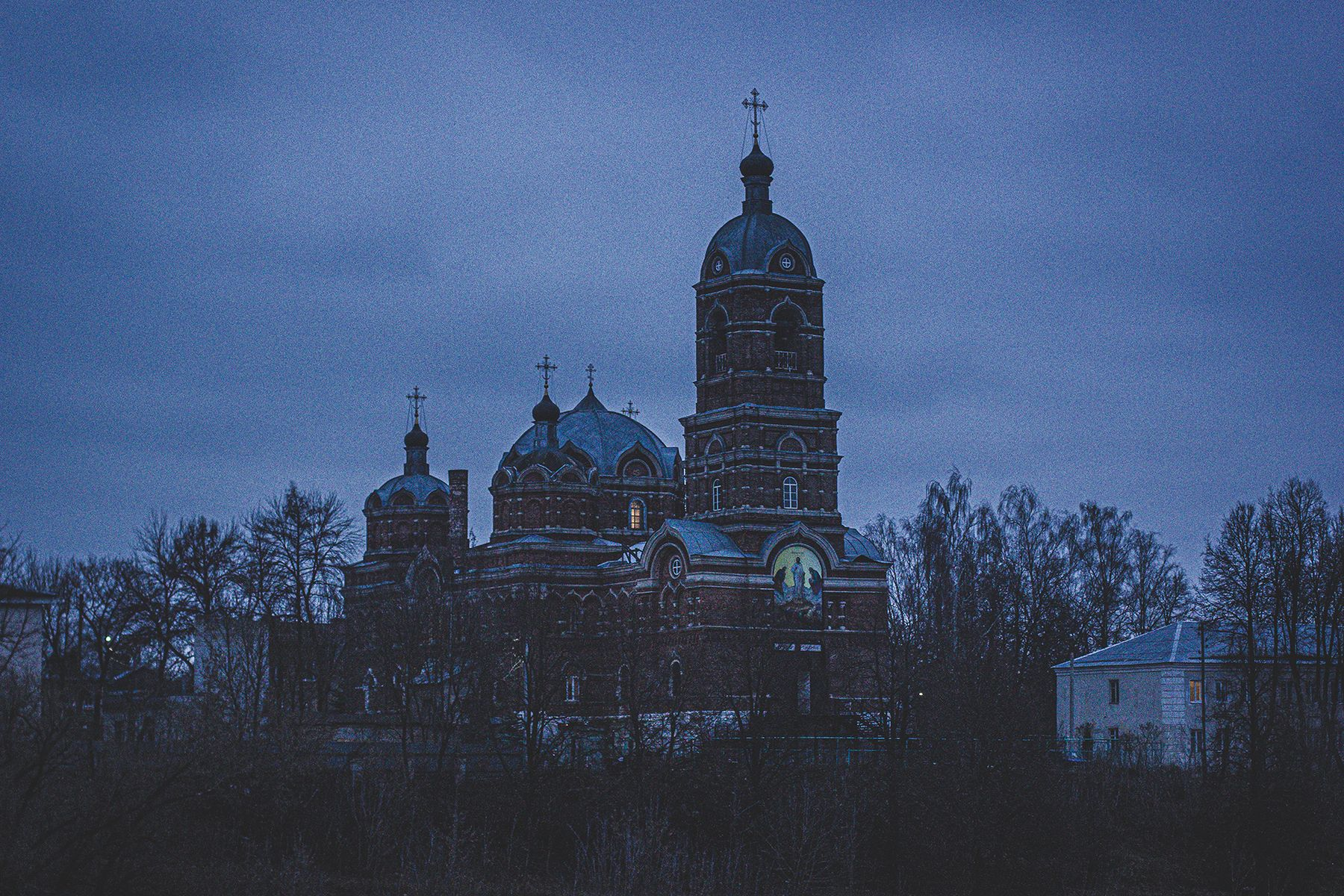 Церковь церковь покраска красивый кадр интересно