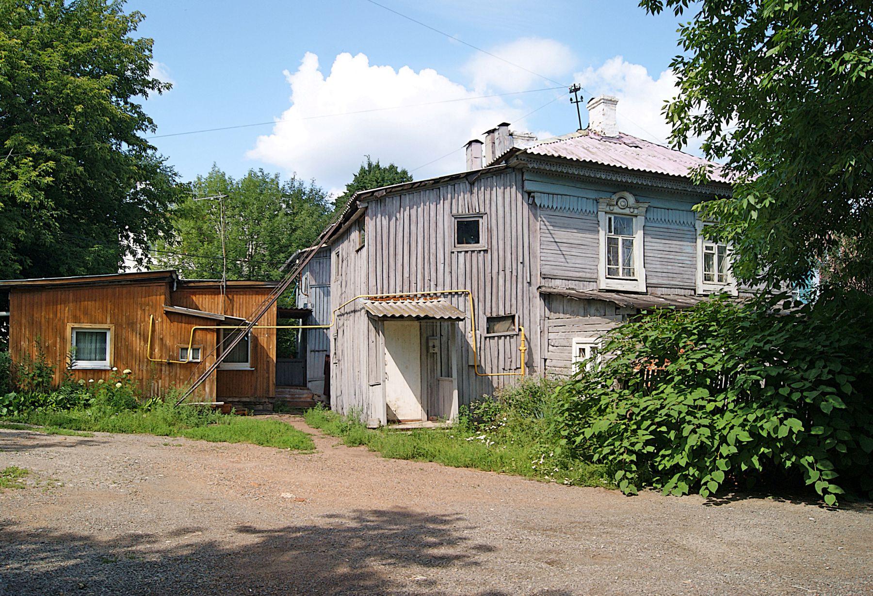ул. Гоголя лето город улица старый дом