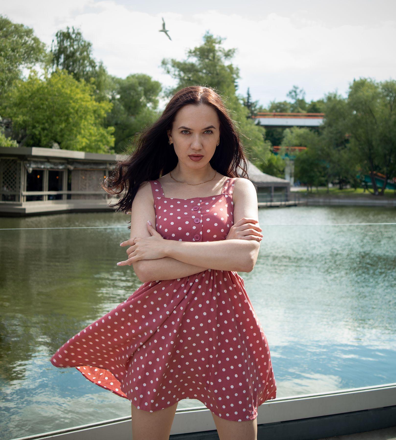 Кристина Стрит красивая девушка женский портрет фотосессия концептуальное