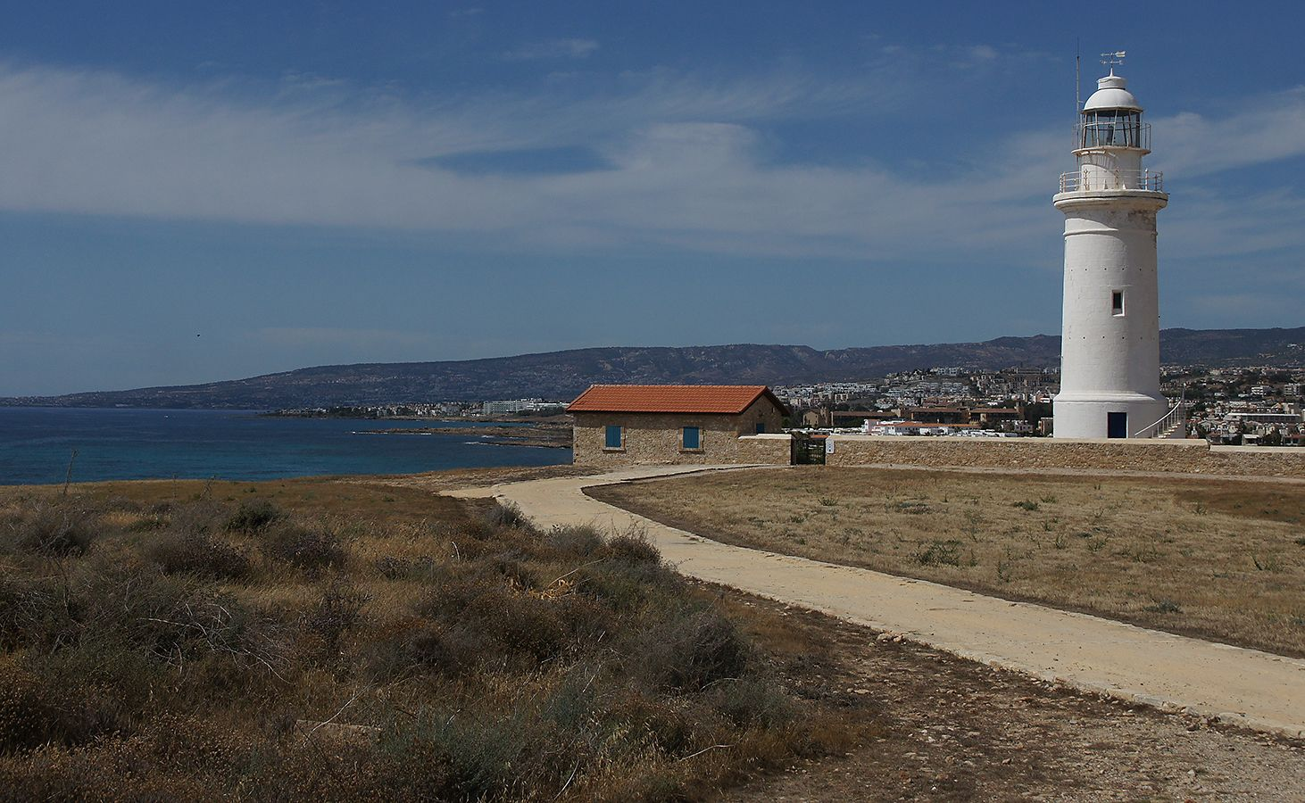 *** Пафос Кипр маяк