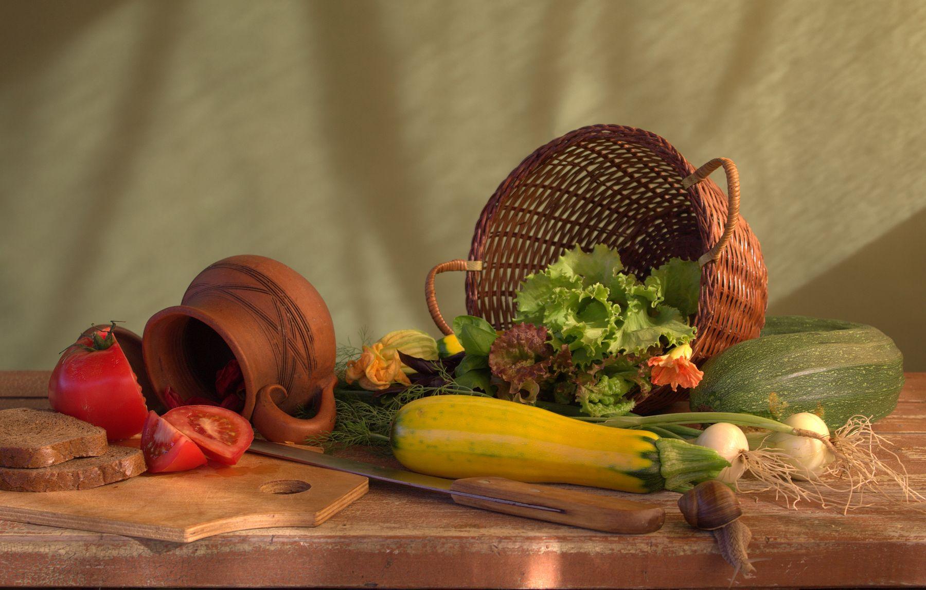 С овощами