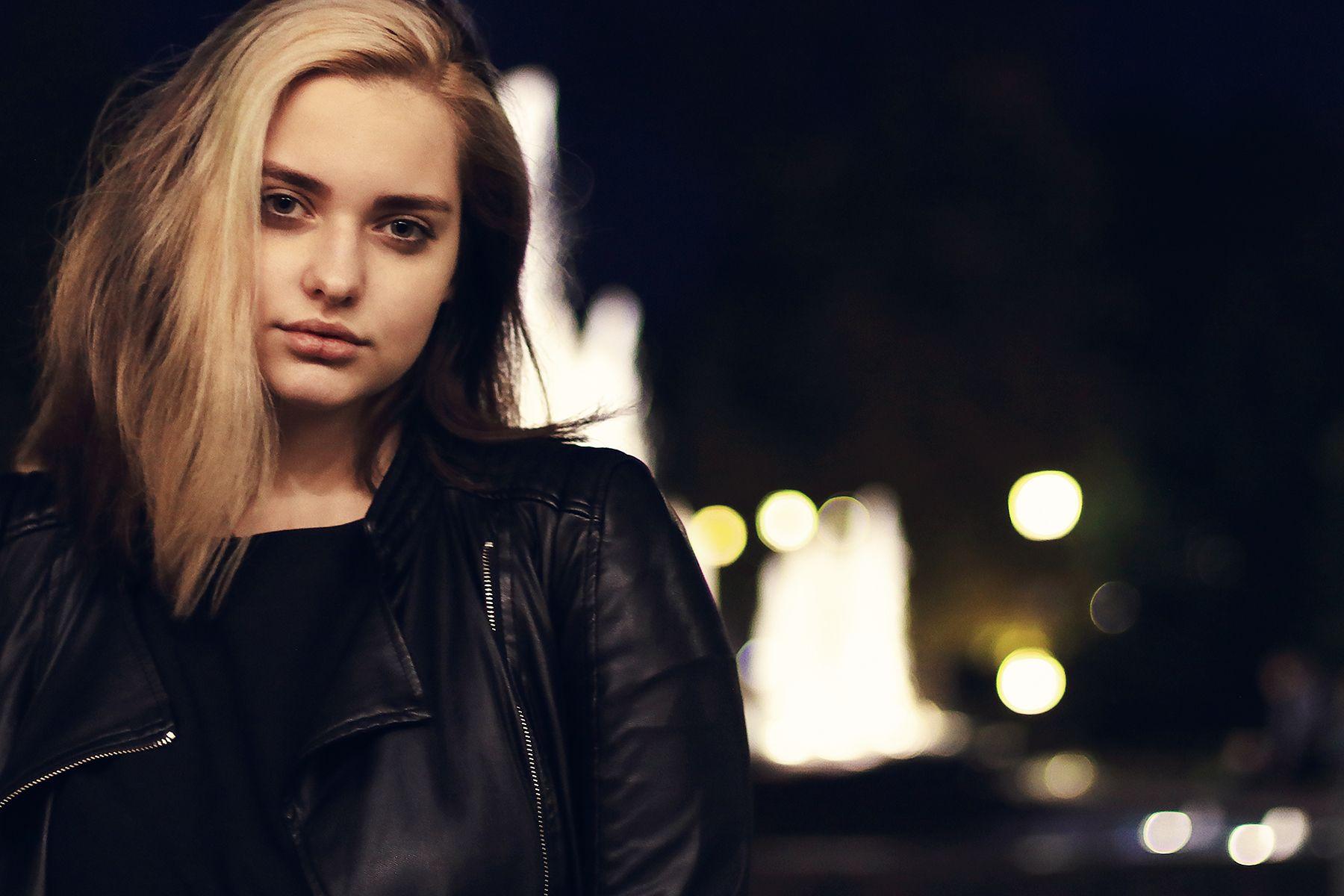 Ночной портрет портрет девушка