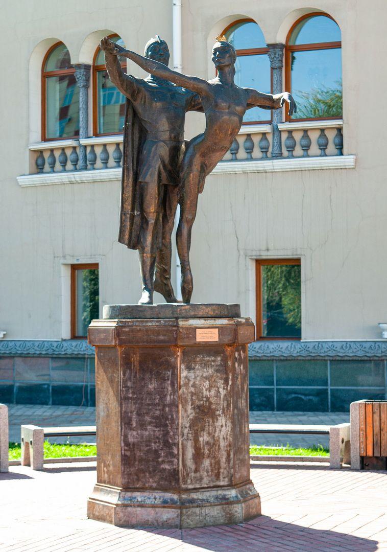 *** Улан-Удэ отдых лето площадь