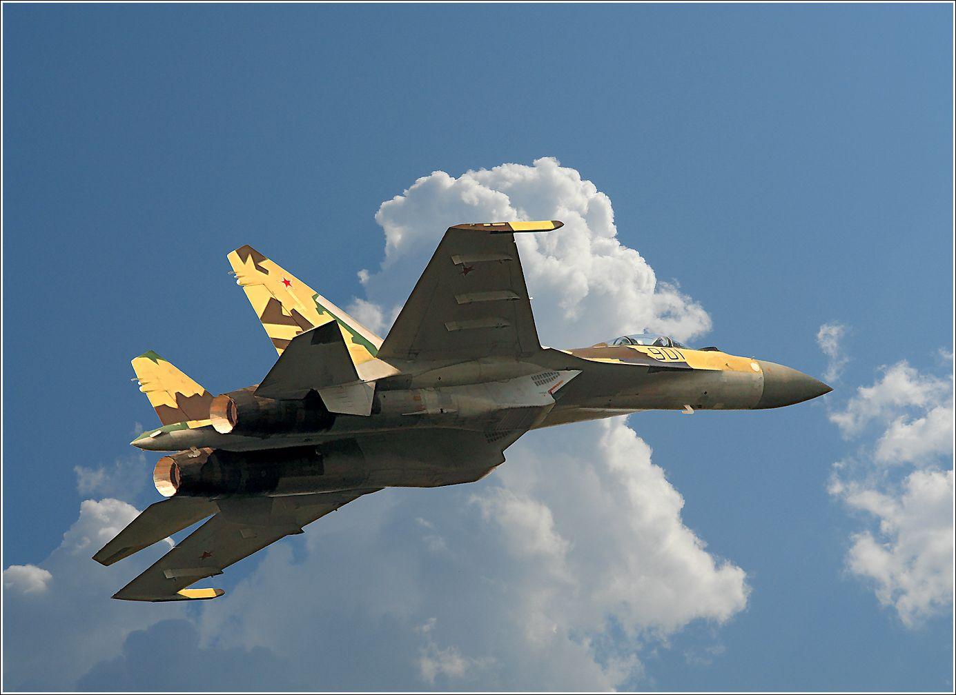 Су-35 Су-35 авиация самолет полет МАКС-2013