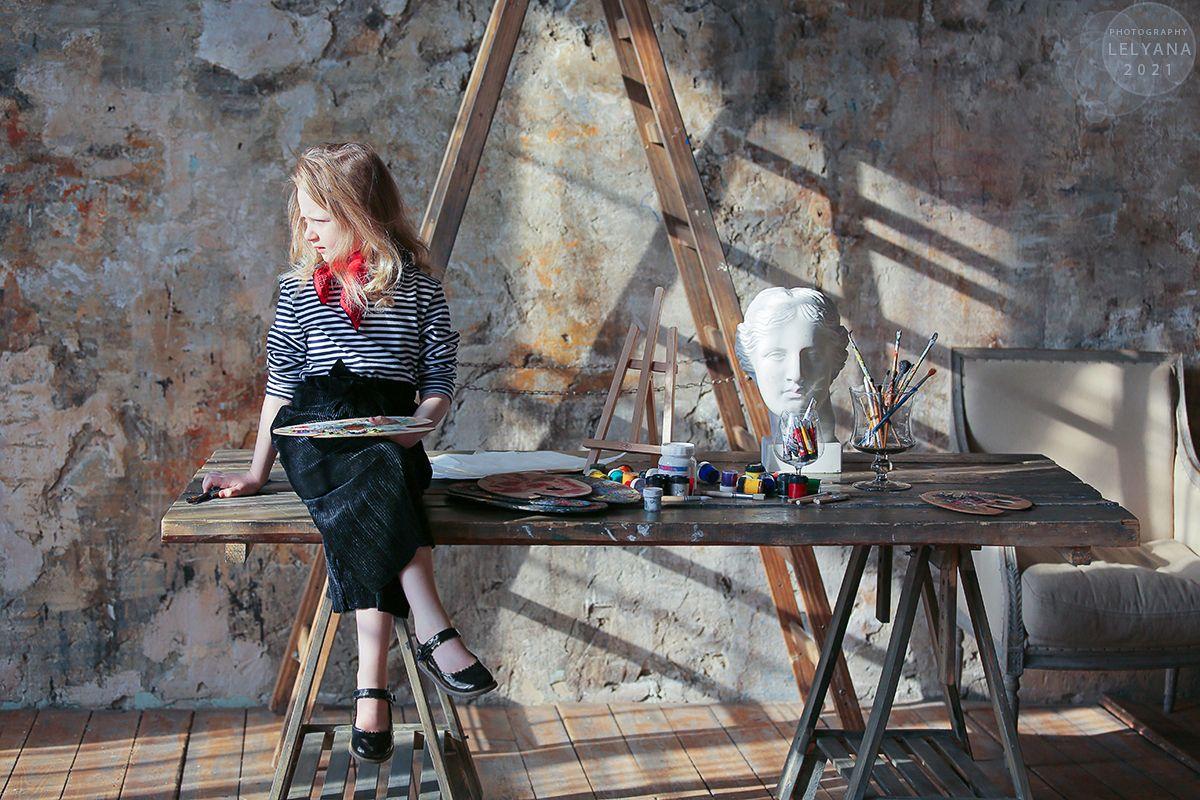 ~ Леляна Маркина Детские фото Агата Хананская lelyana markina agata hanansky painter художник