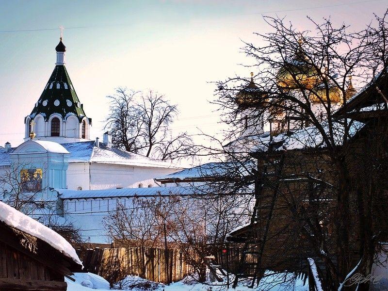 У Ипатьевского монастыря Кострома
