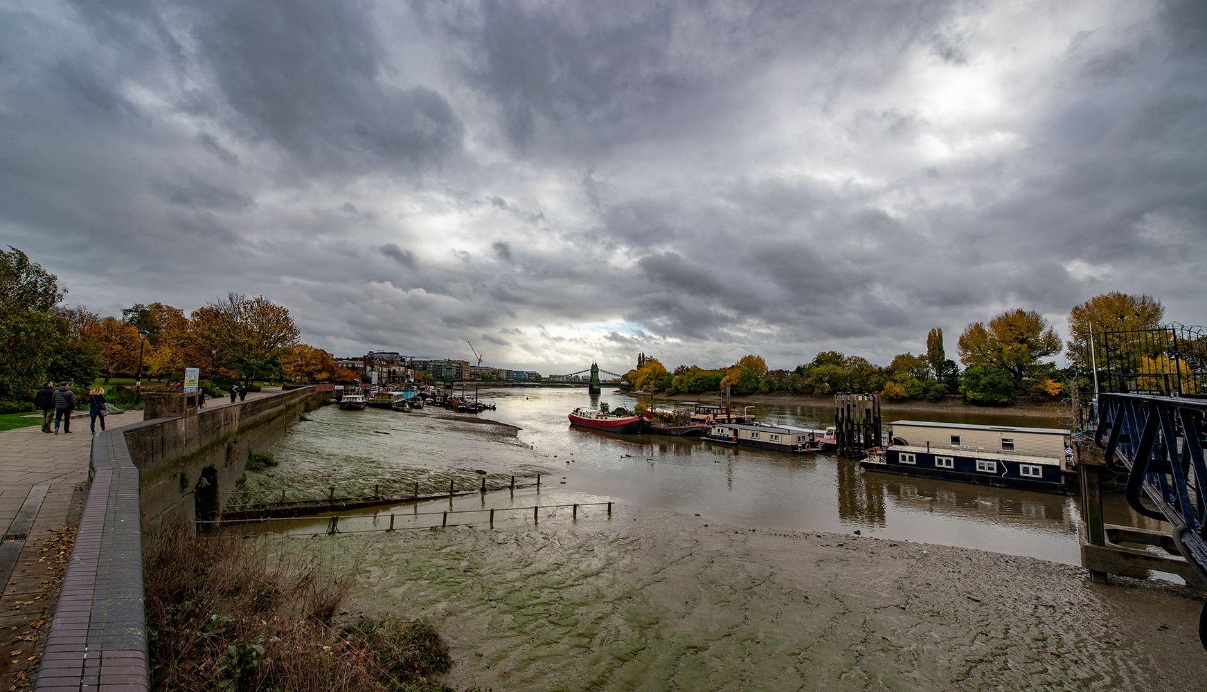 "Пирс THE DOVE - ""Голубь"" (3) Лондон Темза пирс THE_DOVE прилив отлив"