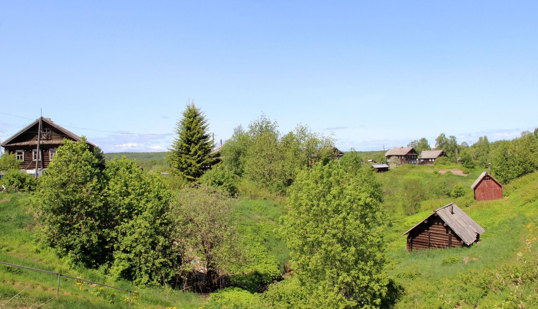 Село Шёлтозеро шелтозеро карелия село