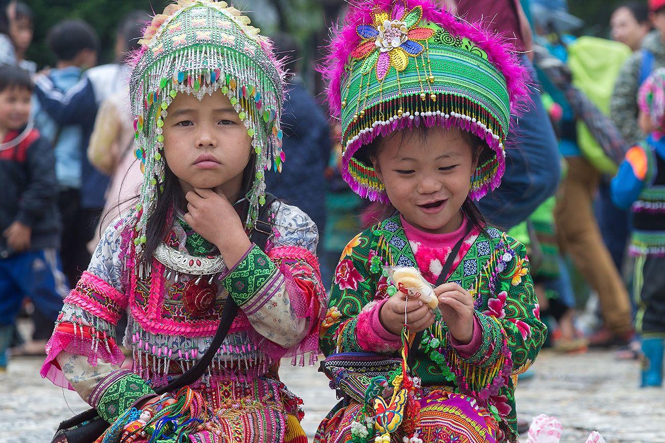 *** дети Сапа Вьетнам
